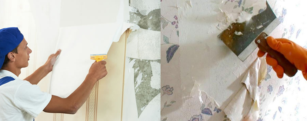 Wallpaper Removal - Wells Painters